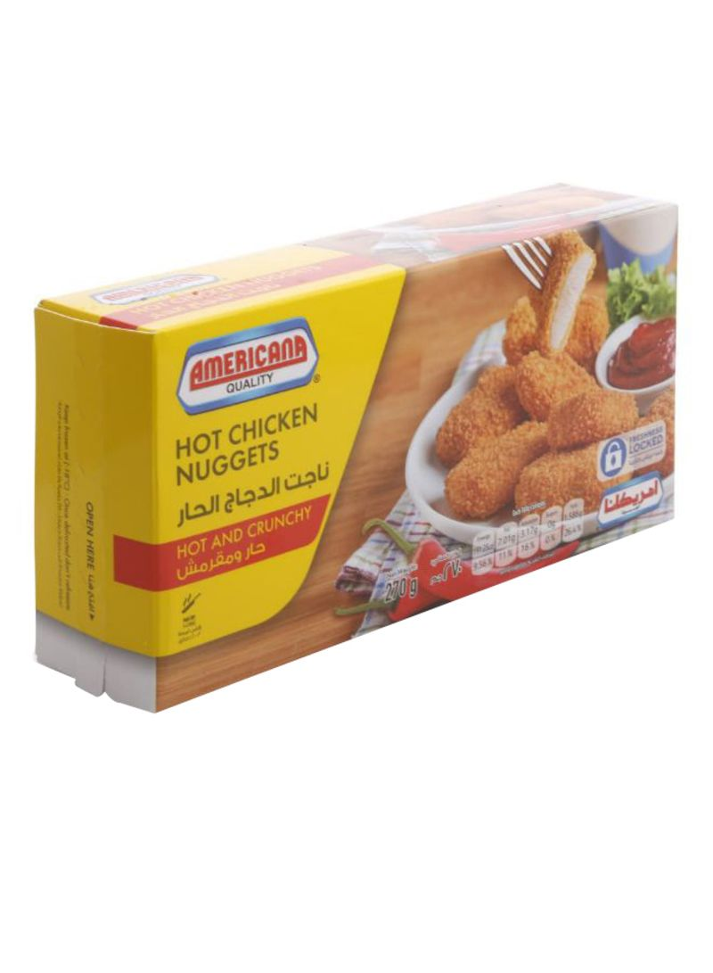 Hot and Crunchy Chicken Nuggets 270 g
