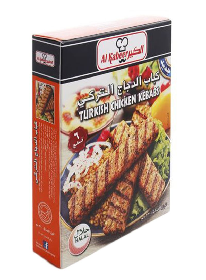 Pack Of 6 Turkish Chicken Kebabs 360 g Pack of 6