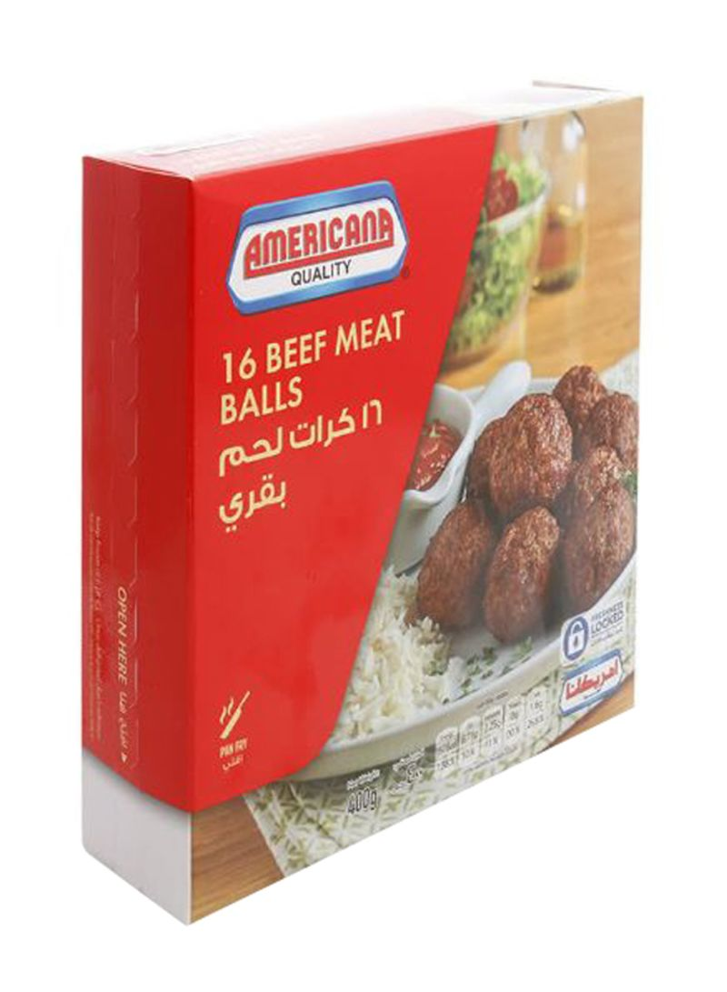 Beef Meat Balls 400 g Pack of 16