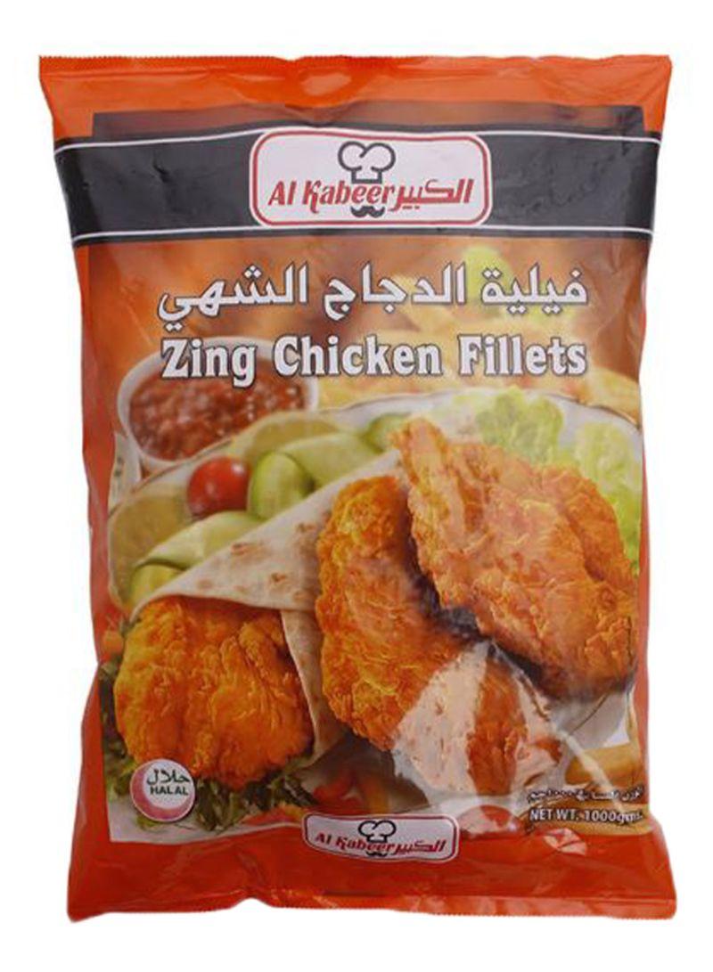 Zing Chicken Fillets 1000 g
