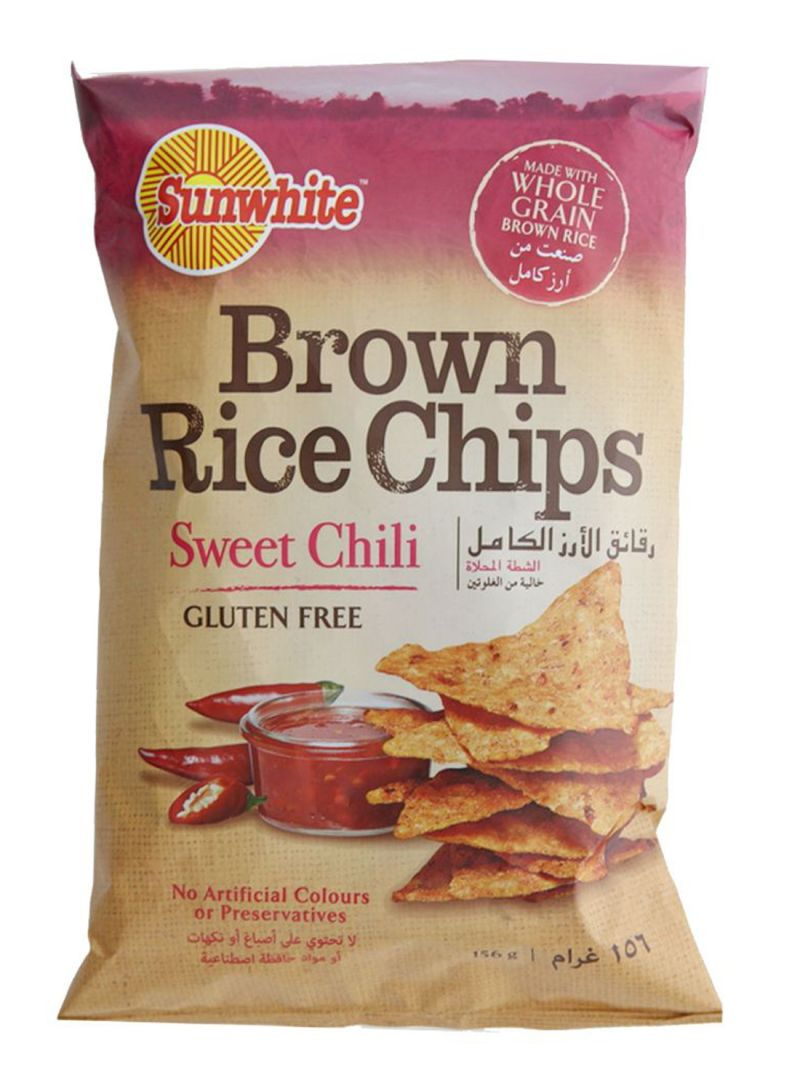 Sweet Chili Brown Rice Chips 156 g