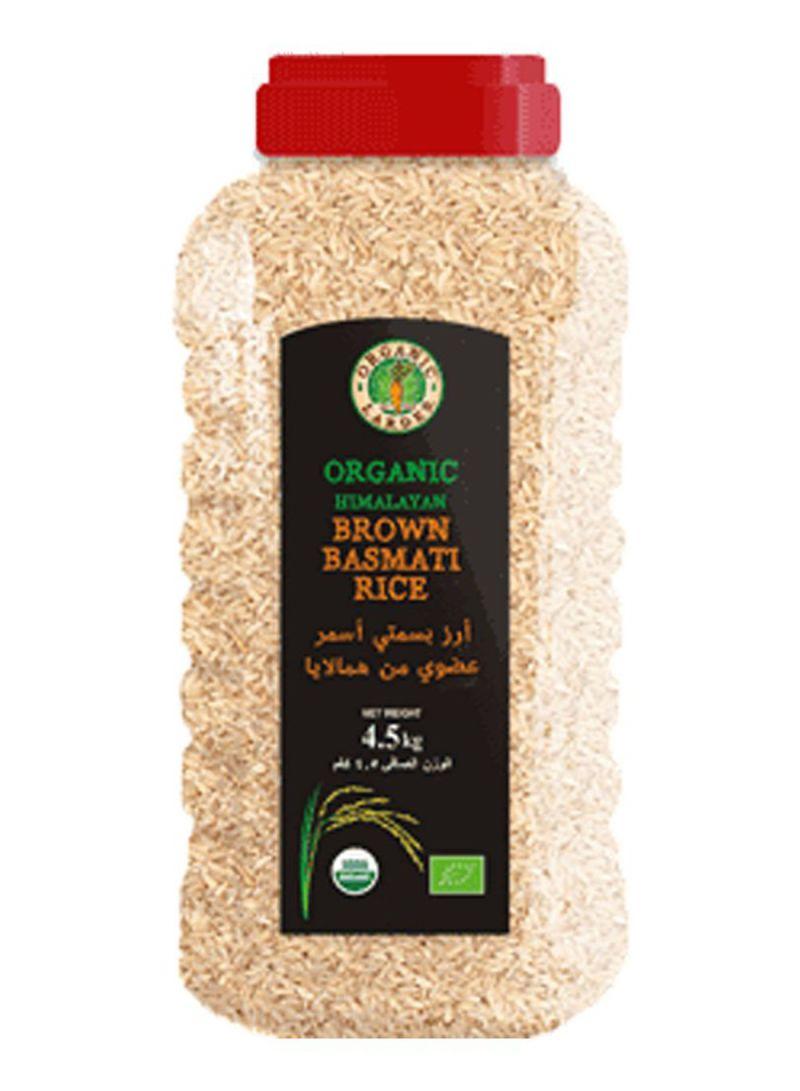 Organic Himalayan Brown Basmati Rice 4.5 kg