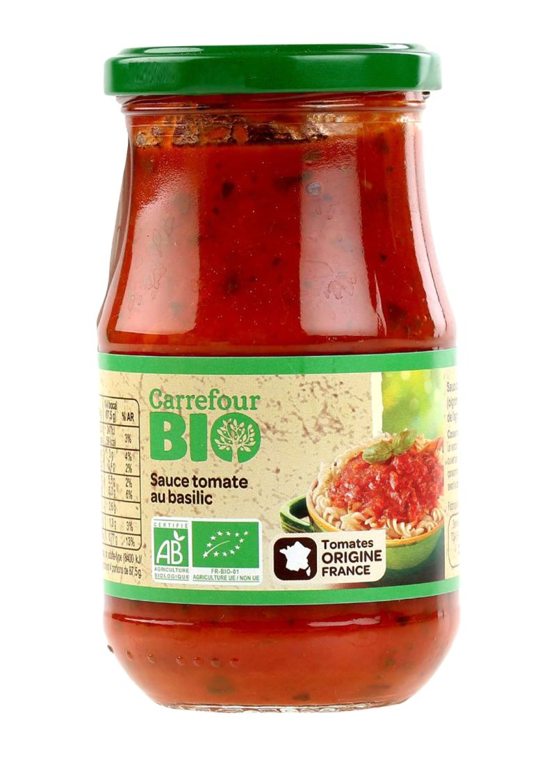 Bio Organic Basil Pasta Sauce 350 g