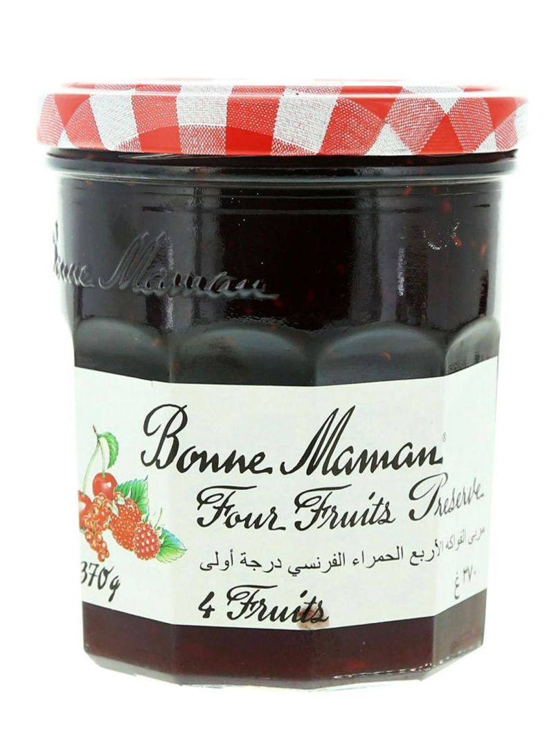 Four Fruits Preserve Jam 370 g