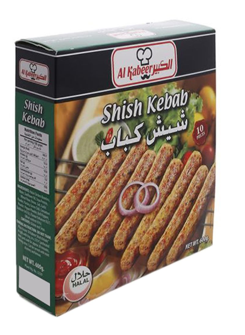 Pack Of 10 Shish Kebab 600 g Pack of 10
