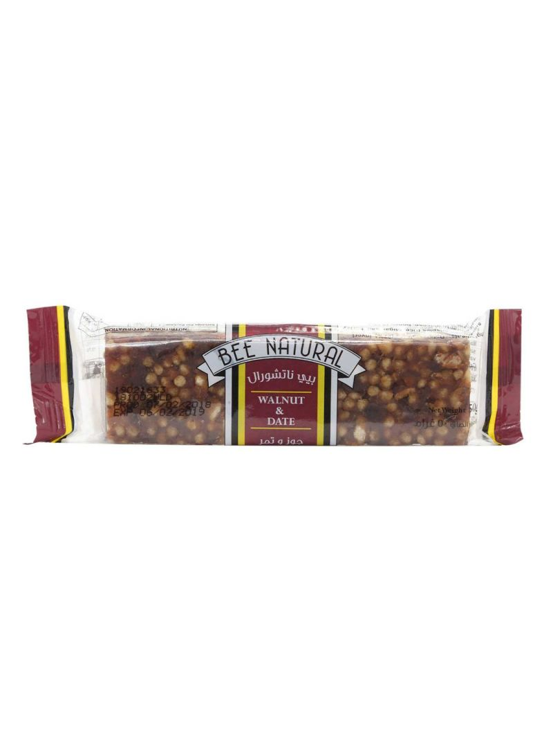 Walnut And Date Cereal Bar 50 g