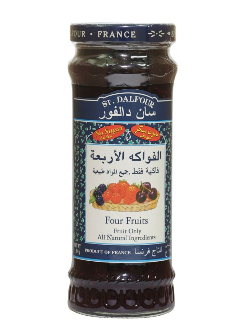 Four Fruits Jam 284 g