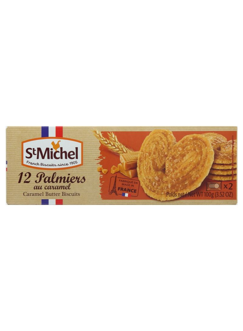 Palmiers Caramel Butter Biscuits 100 g