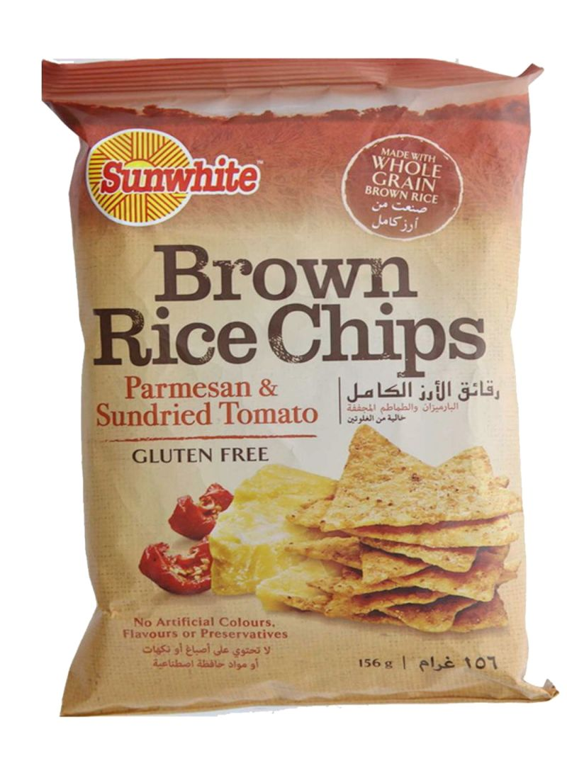 Brown Rice Chips Parmesan And Sundried Tomato 156 g
