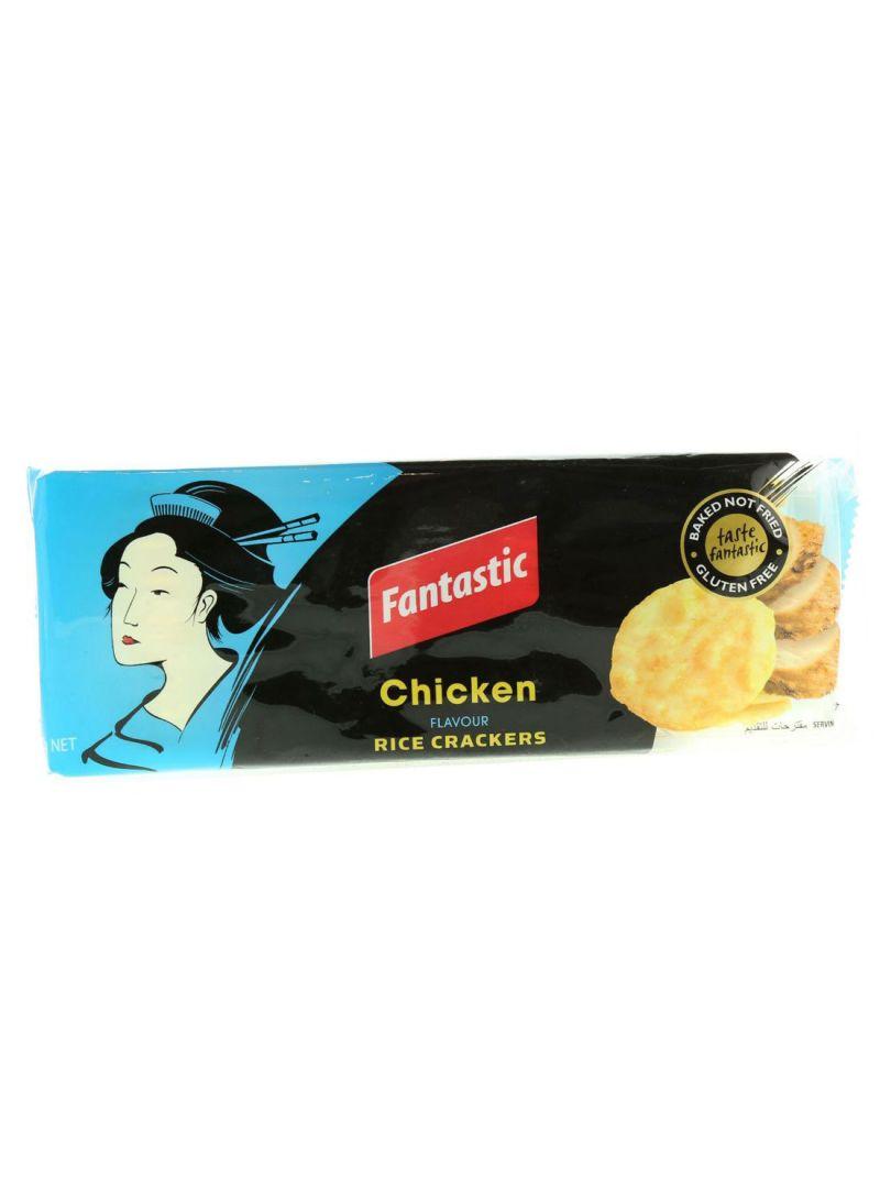 Chicken Flavor Rice Crackers 100 g