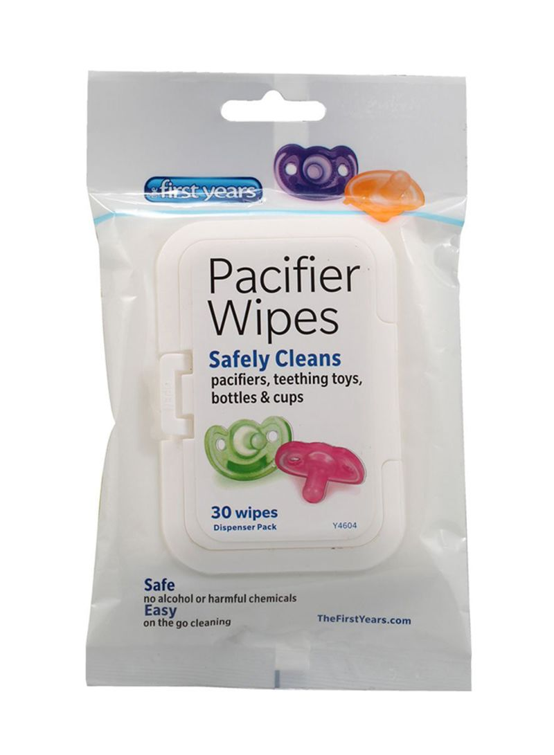 30 Piece Pacifier Wipes