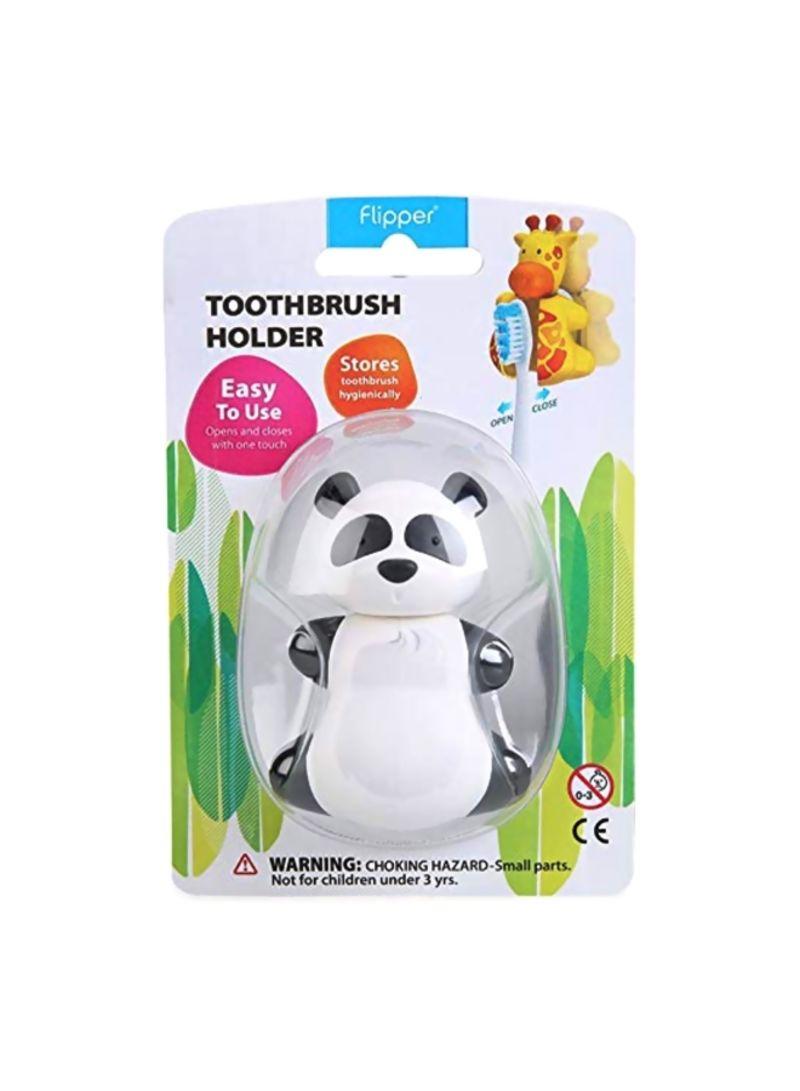 Panda Design Toothbrush Holder White