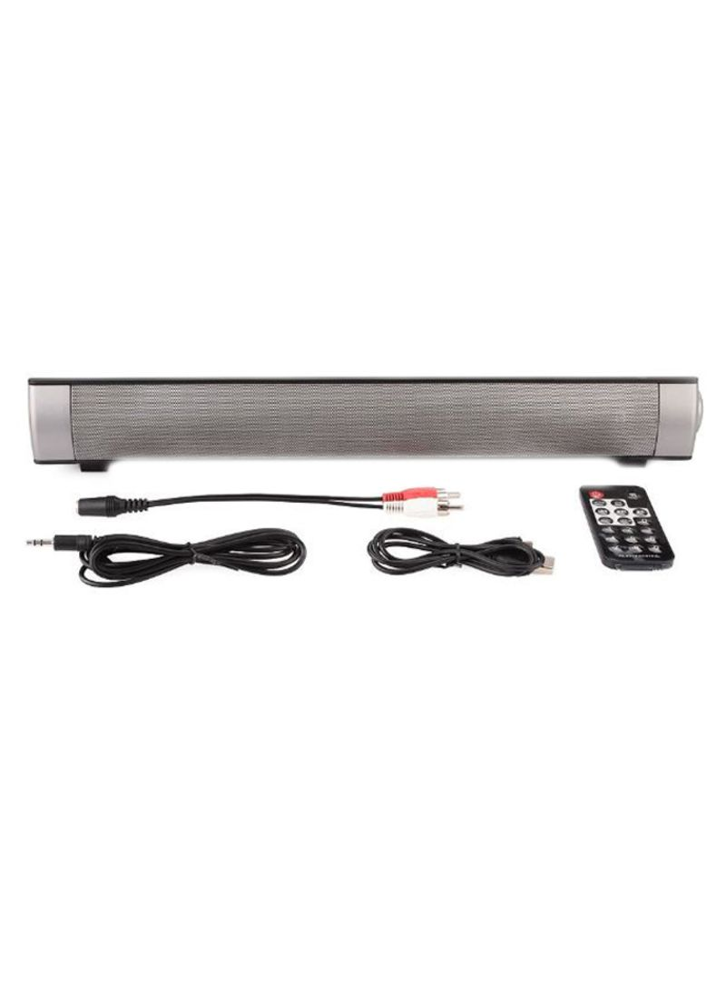 Home Theater Bluetooth Sound Bar 123267_3 Silver/Grey