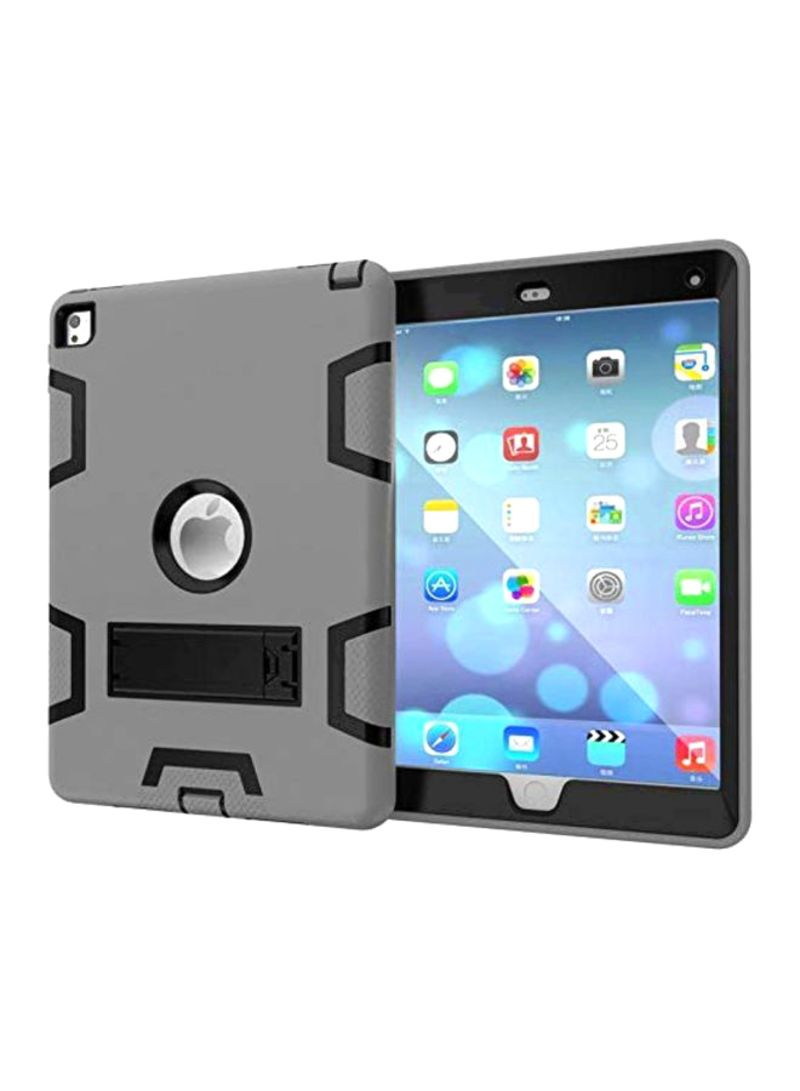 Hard Stand Case Cover For Apple iPad Pro 9.7 Grey/Black