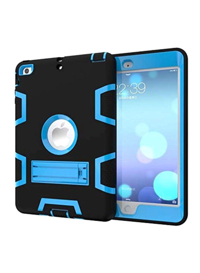 Hard Case Cover For Apple iPad Air 2/Apple iPad Pro 9.7-Inch Black/Blue