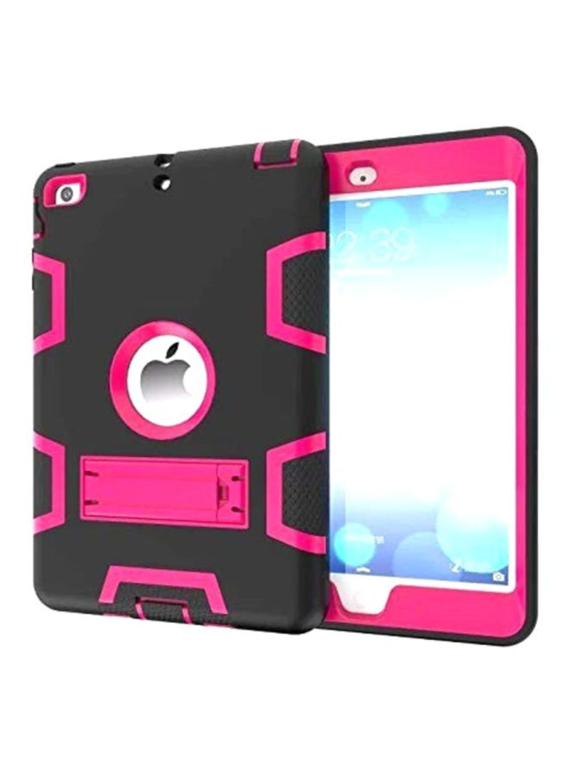 Hard Case Cover For Apple iPad Air 2/Apple iPad Pro 9.7-Inch Black/Pink