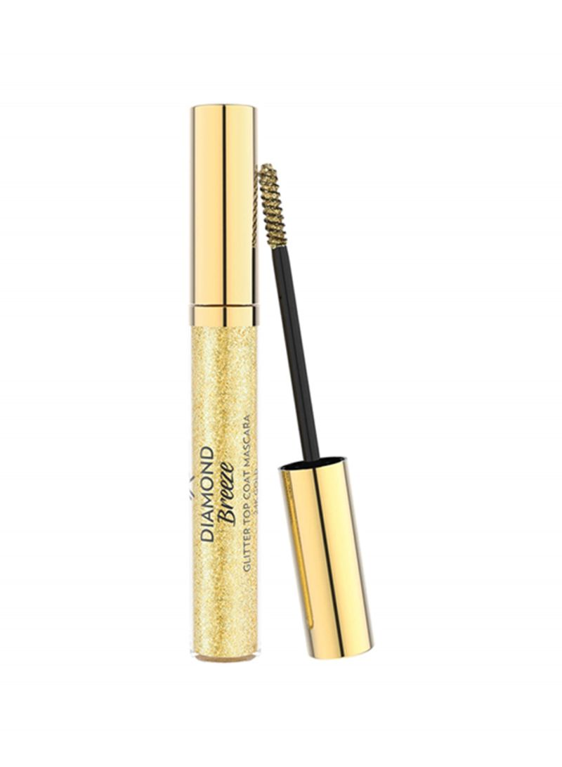 Diamond Breeze Top Coat Mascara Gold