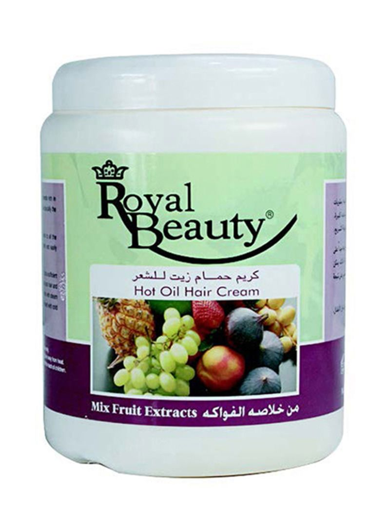 Mixed Fruits Extract Hot Oil Hair Cream 1000 ml