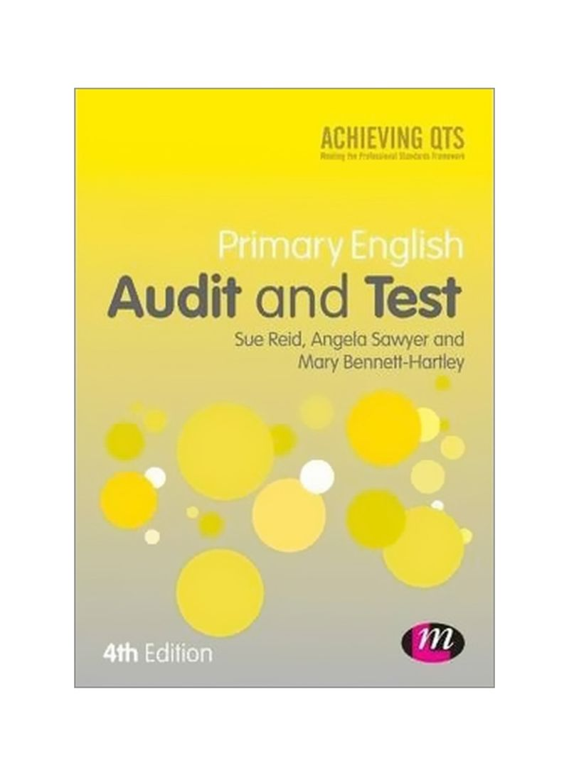 Primary English Audit And Test Paperback 4