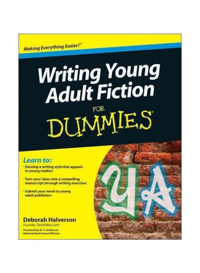 Writing Young Adult Fiction For Dummies Paperback