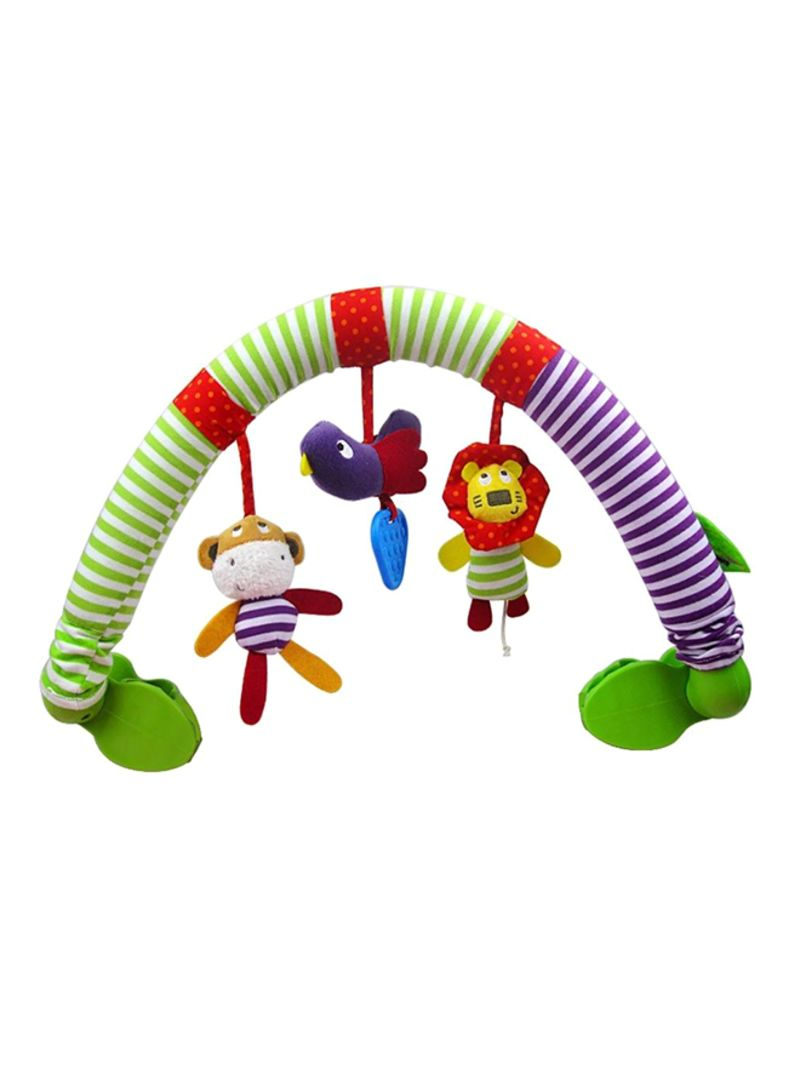 Plastic Musical Bed Play Stroller Rattles Toys