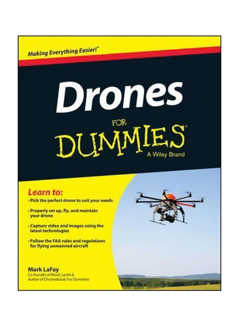 Drones For Dummies Paperback