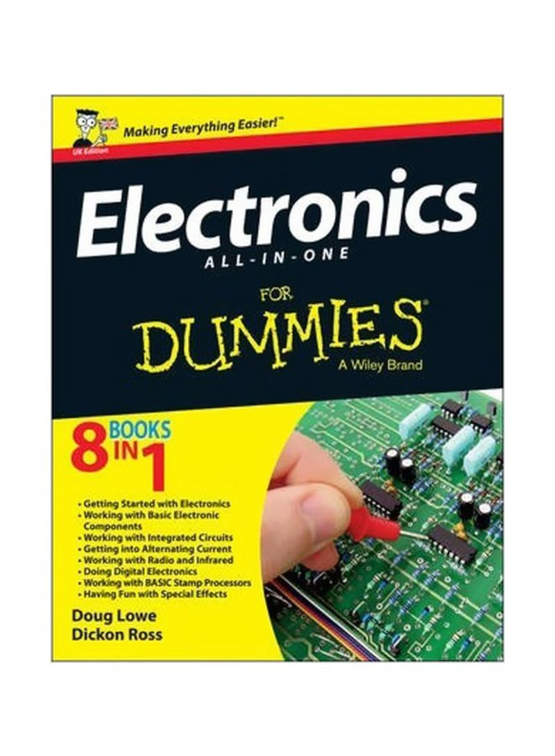 Electronics All-in-One For Dummies : Making Everything Easier Paperback