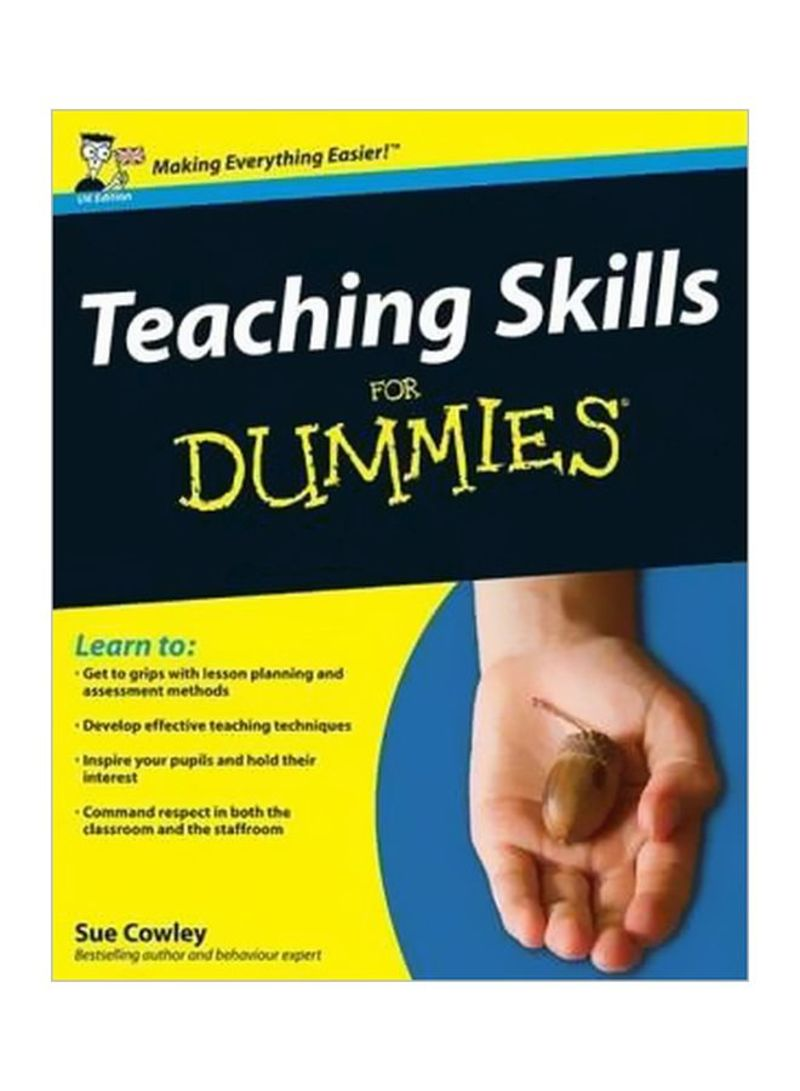 Teaching Skills For Dummies Paperback