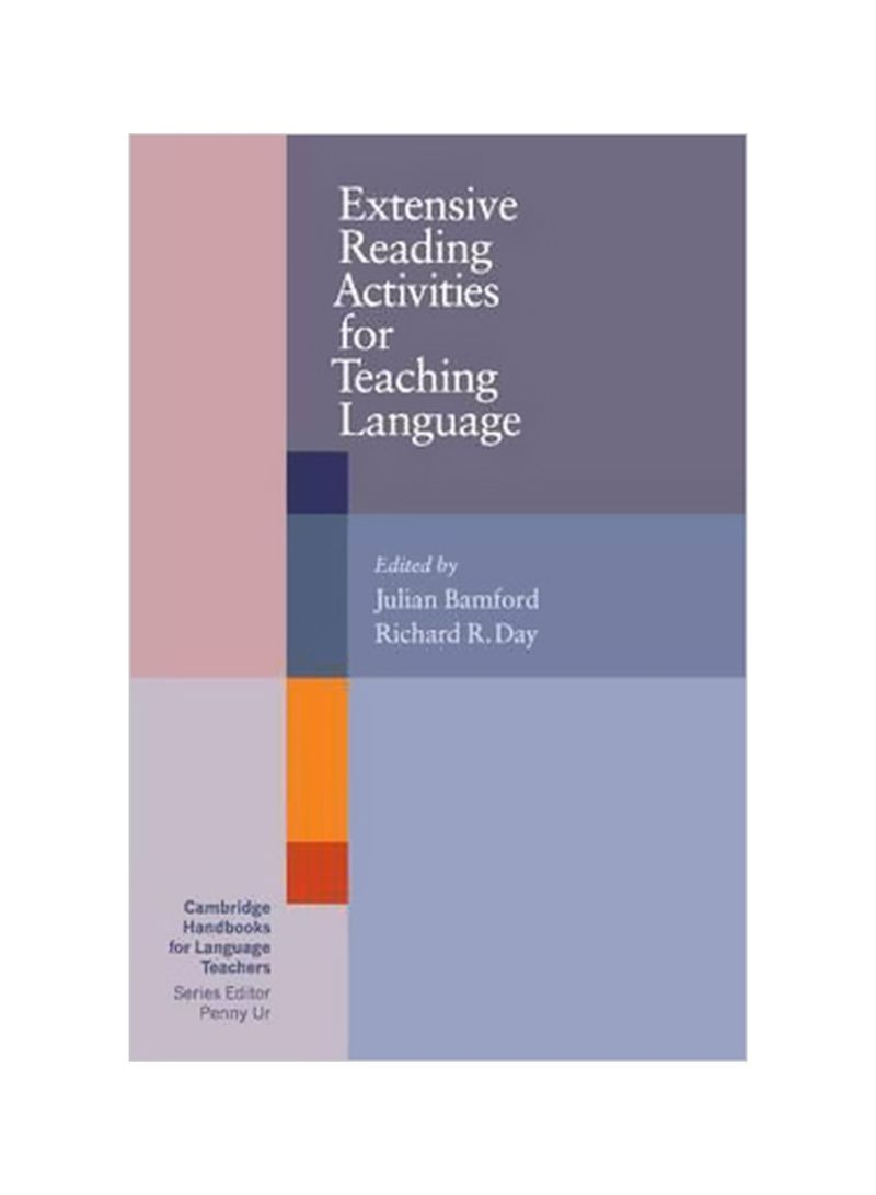 Extensive Reading Activities For Teaching Language : Cambridge Handbooks For Language Teachers Paperback