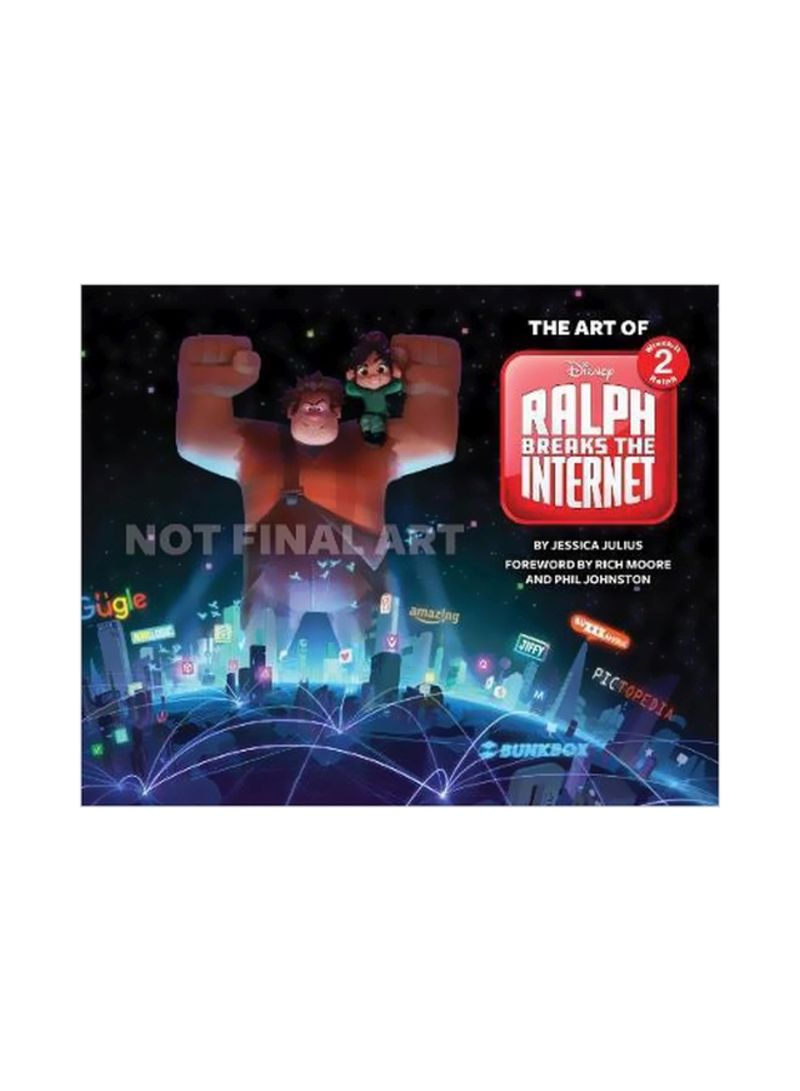 The The Art Of Ralph Breaks The Internet Hardcover