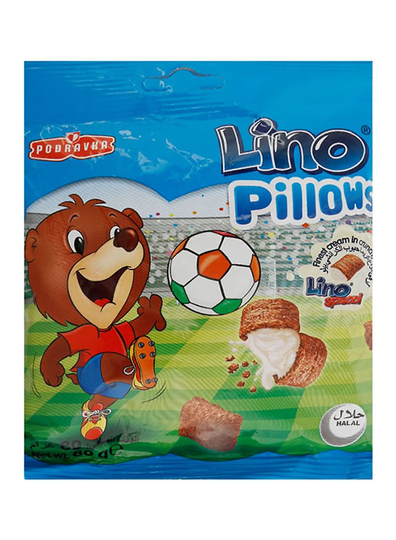 Pillows With Milk Filling Cereal 80 g