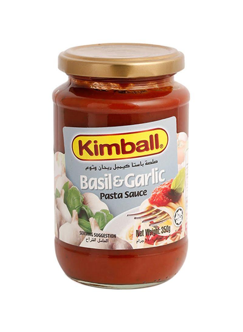 Basil & Garlic Pasta Sauce 350 g