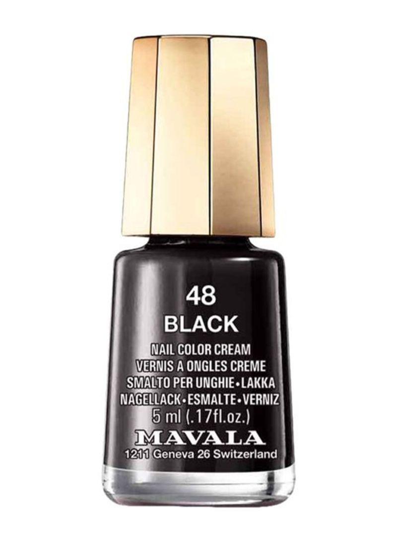 Glossy Nail Polish 48 Black