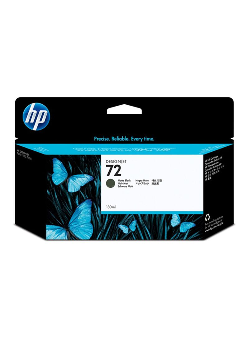 72 130ML C9403A Ink For Printers Matte Black