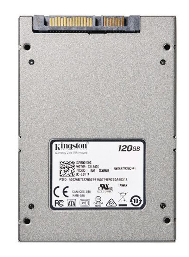 SATA III SSD Solid State Hard Drive Grey 120 GB