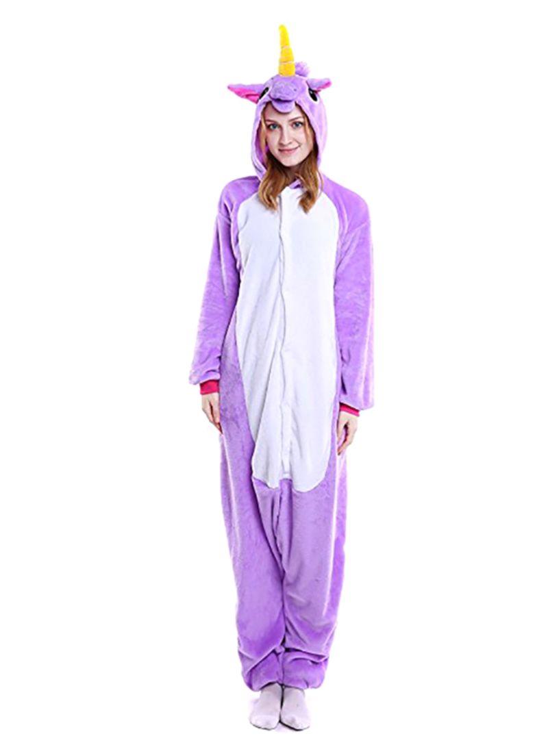 Cartoon Sleepwear Purple