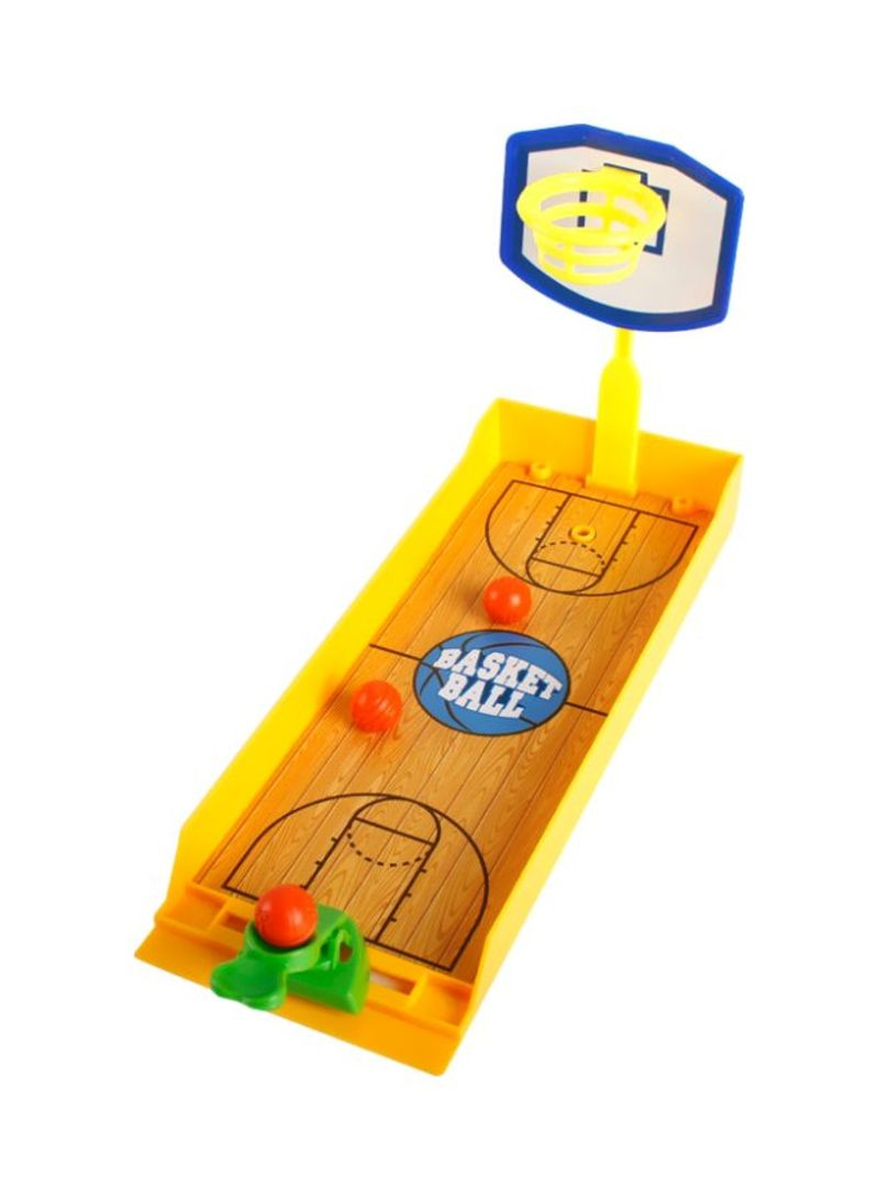 Basketball Double Playing Finger Shooting Game 20.5x15.8x7.5 centimeter