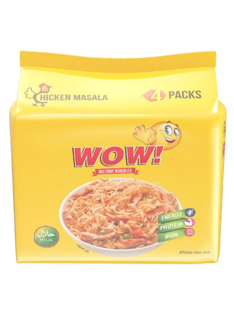 Pack of 4 Chicken Masala Flavor Noodle 248 g