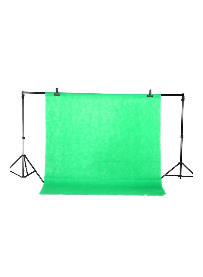 Non-Woven Screen Photo Backdrop Background Green