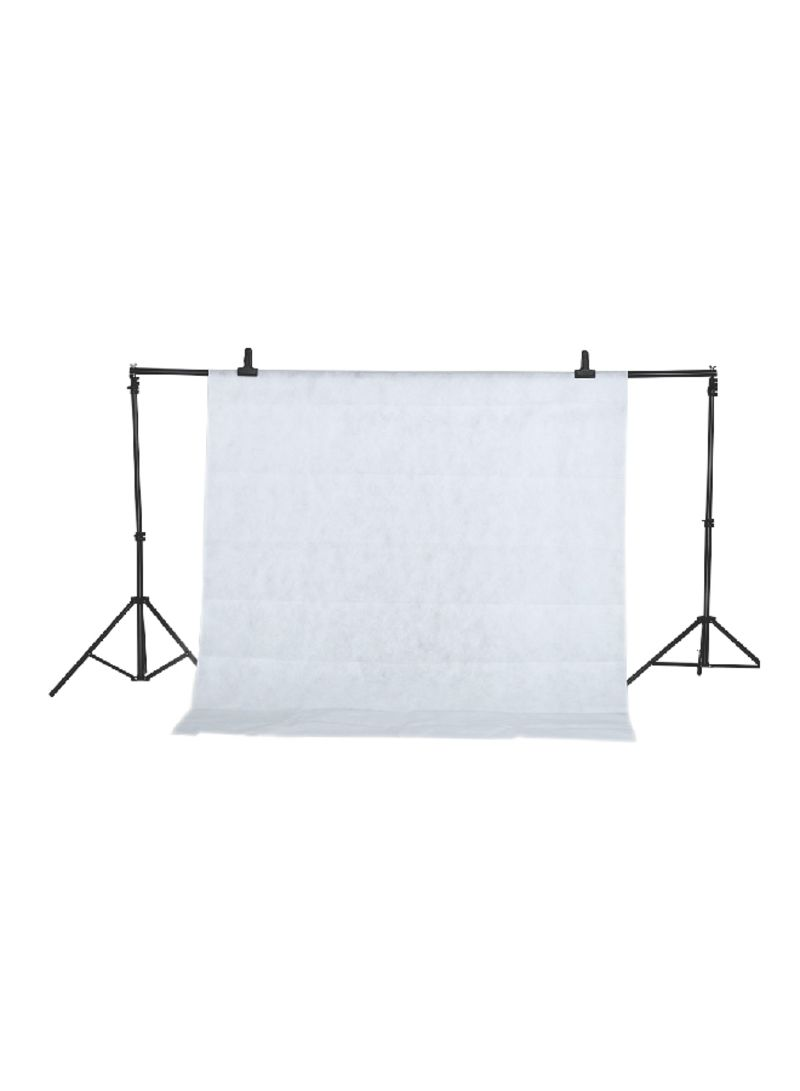 Non-Woven Screen Photo Backdrop Background White