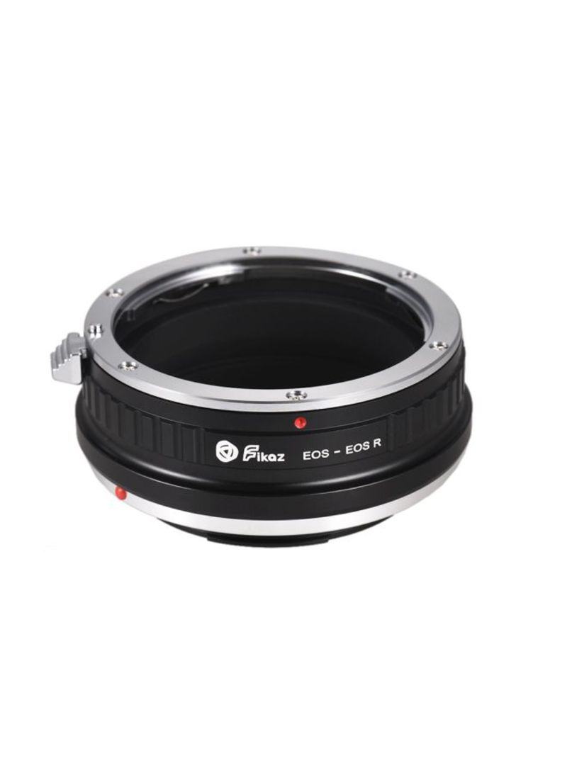 Adapter Ring For EOS EF-Mount Lens To Canon EOS R/RP RF-Mount Mirrorless Camera Black/Silver