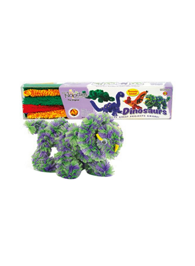 Colourful Brain Noodles Dinosaurs Game