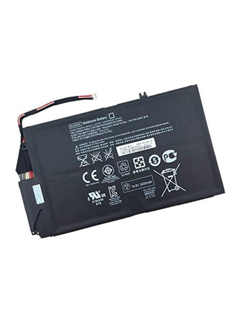 Replacement Laptop Battery For HP El04xl/4-1000 Notebook Black 5200 mAh