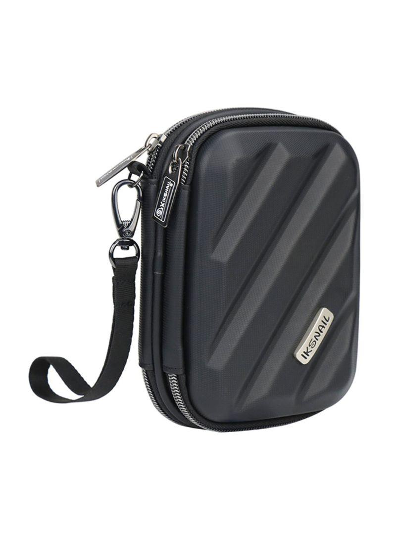 Electronics Organizer Storage Bag Black