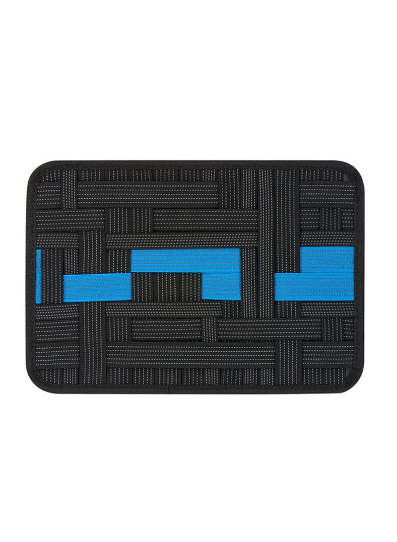 Elastic Electronics Travel Organizer Black