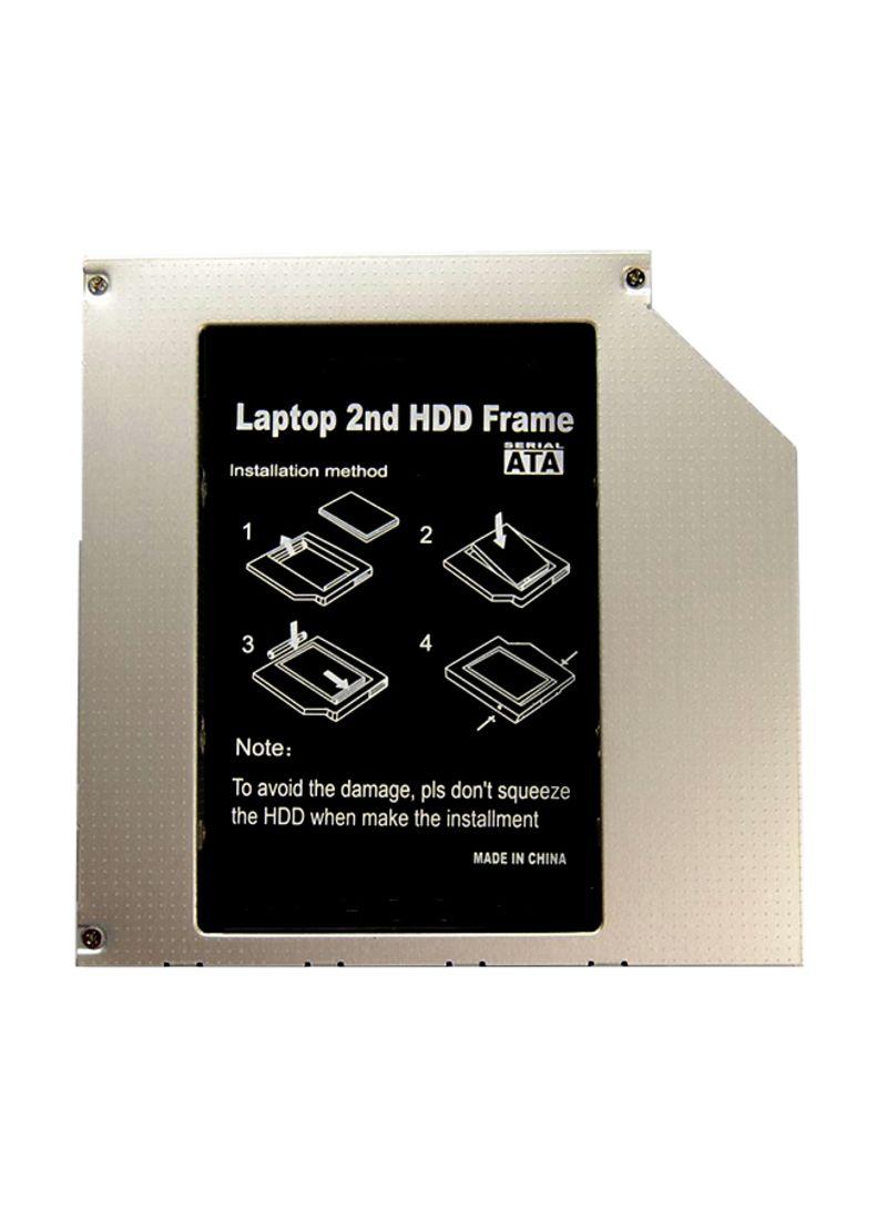 Hard Disk Drive Bay For Dell Vostro 1500/1700 Black 2.5 inch
