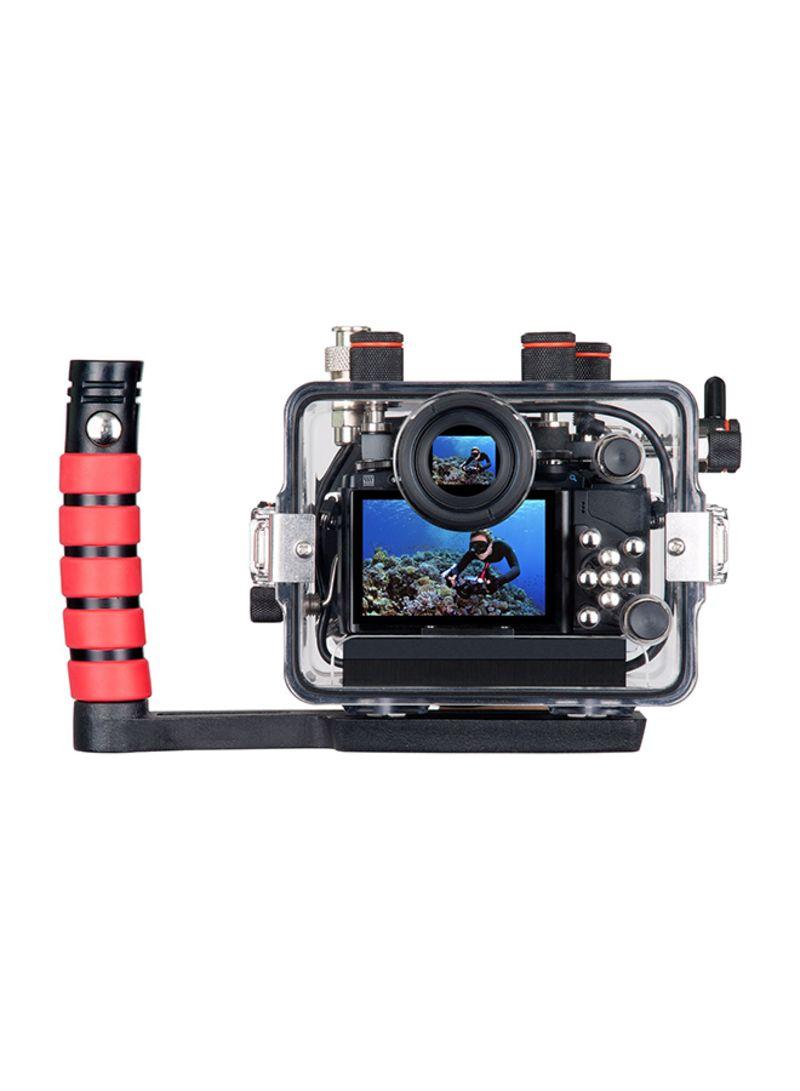 OM-D E-M10 Underwater Camera Housing For Olympus Black/Red