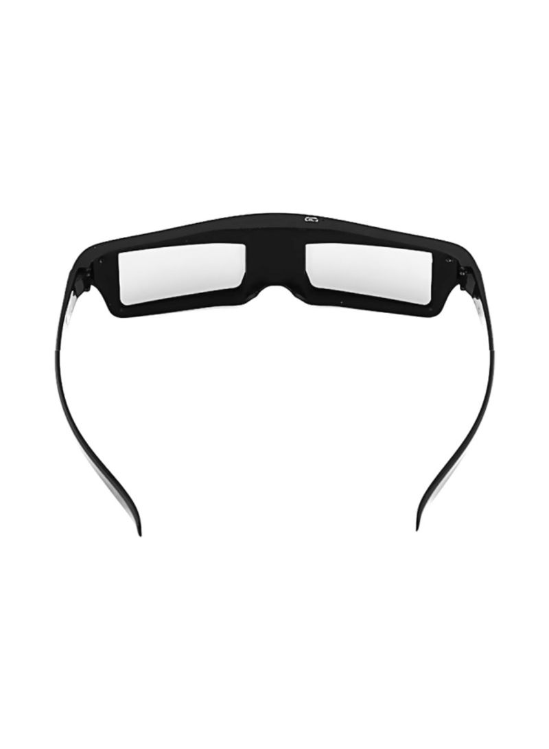 Active Shutter 3D Glasses Black