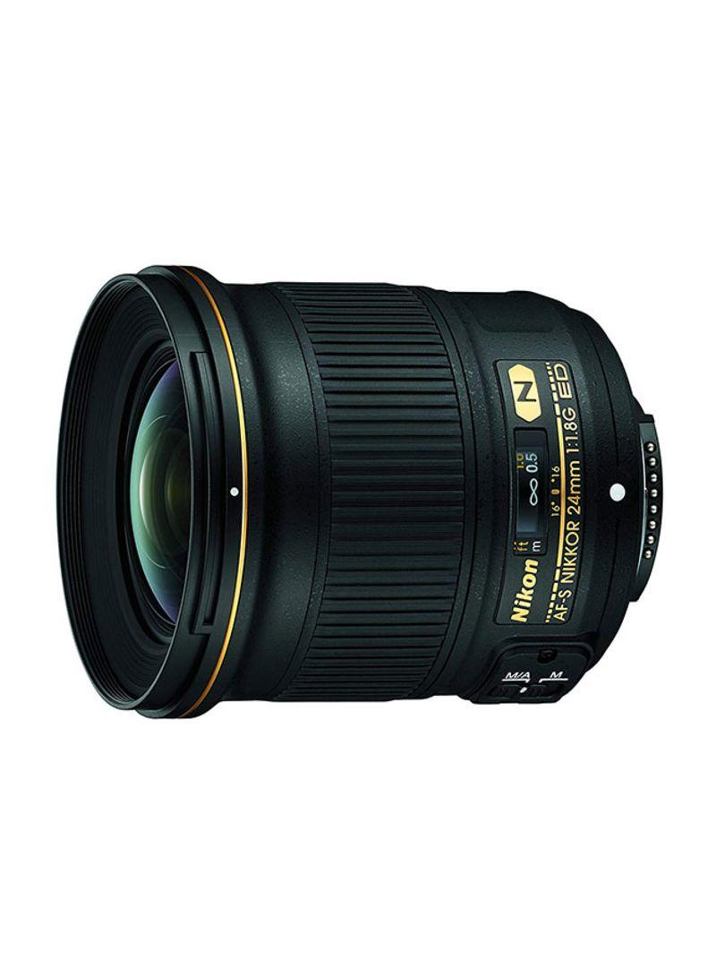 Nikkor 24mm F/1.8G ED Fixed Lens For Nikon Camera Black