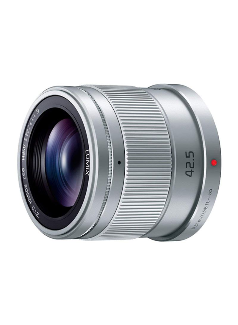LUMIX G 42.5mm F1.7 Lens For Panasonic Silver